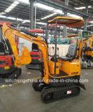 Excavatrices Xn08 de chenille de la qualité 850kg de prix usine bonnes mini