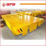 Exterior de la planta de metales no ferrosos Carro de transporte motorizado para la transferencia de carga