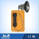 Telefono esterno, del tempo freddo o caldo del telefono, del telefono dell'altoparlante