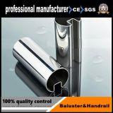 tubo della scanalatura dell'acciaio inossidabile 201 301 304 316 per il corrimano/inferriata