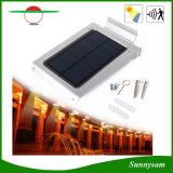 46 diodos emissores de luz Waterproof a luz solar do sensor do corpo humano para o jardim