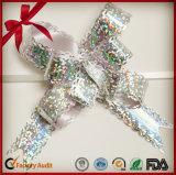 12mm MiniGlod Gewinde-kleine Zug-Plastikbögen für Schmucksache-Verpackung