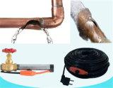 Élevage d'animaux Installation souple Câble de chauffage à vanne à froid et à tuyau 220V pour marché européen