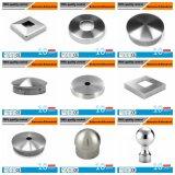 高品質の固体鋳造のステンレス鋼の柵のエンドキャップ