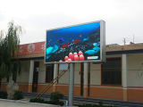 Impermeable, de Alto Brillo, Color de LED de gran pantalla de video, publicidad exterior