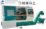 절단 금속 Vck6236*2p를 위한 수평한 편평한 침대 선형 CNC 선반 기계