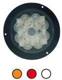 """LED 4"""" 둥근 정지 회전 테일 빛 Tl22"""