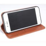 사업 iPhone 7을%s 고전적인 PU 가죽 이동할 수 있는 부속품 전화 상자