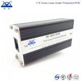 Алюминиевый сплав сети Ethernet Gigabit 1000m разъема RJ45 защиту от воздействий молнии