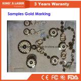 黄銅及び銅の深い彫版機械ファイバーレーザーの彫刻家ISOのセリウムRoHS