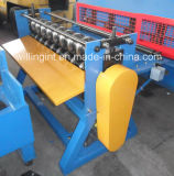 Máquina de corte simples / linha de corte de bobinas de aço cortante