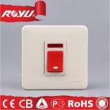 [إلكتريكل نرج] - توفير جدار قوة زرّ مفتاح مع ضوء