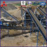 15 Tph usine de concassage de roches de granit