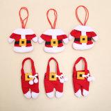 De Reeks van het Bestek van Kerstmis van de Reeksen van de Vork van het Mes van Kerstmis