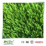 Abbellimento del tappeto erboso verde artificiale dell'erba sintetica per il giardino