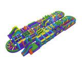 Parcours de combattant gonflable géant de modèle neuf Chob537