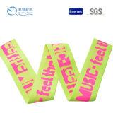 2016 Nuevo diseño de alta calidad personalizadas Jacquard impresión cinta elástica