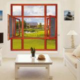 В немецком стиле Feelingtop тепловой Break алюминиевая дверная рама перемещена Window-Screen (фут-W108)