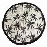 Mandala Roundie 100% coton Ronds de serviettes serviettes de plage avec des glands Fringe