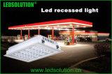IP66 Outdoor LED recesso luz para iluminação da estação de gás
