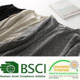 Maglietta normale dell'abito del manicotto delle donne bianche del cotone di modo la breve può stampa