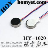 Tipo de Moeda Mini-DC Motor de vibração/Motor eléctrico com cabos para celular (HY-1020)