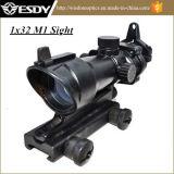 1X32 M1 roter und grüner PUNKT Anblick-Jagd-Bereich-Anblick