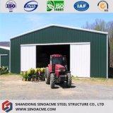 Armazém de armazenamento da construção de aço da grande extensão da agricultura com feixe de H