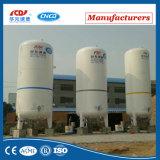 Tanque de armazenamento criogênico químico do oxigênio do nitrogênio líquido