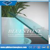 verre feuilleté bleu de 6.38mm avec propre usine