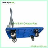 Carrello di plastica della piattaforma del carrello della mano del camion di alta qualità