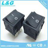 16A 250VAC T125 UL/CB/ENEC 모양 전기 로커 스위치