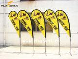 bandierine portatili di alluminio della bandierina/Teardrop di spiaggia del Tradeshow di 2.8m/bandierine di volo