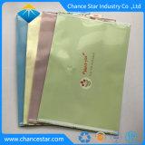 Custom пластиковый 2 карман конверт папки с кнопкой закрытия