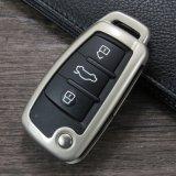 Kc_A02 Fashion novo carro Chave de metal caso abrange para a Audi