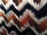 Tre l'uomo della pelliccia artificiale del jacquard di colore di colore sei di colore cinque di colore quattro ha fatto l'alta peluche