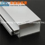 Revêtement en poudre en alliage en aluminium extrudé profils en aluminium pour portes et fenêtres