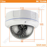 New Design Vandal Proof Dome Caméra IP Varifocal 720p 1.0MP avec Ce FCC RoHS Banque Caméra CCTV de sécurité avec coupure IR (MVT-M2720)