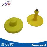Пассивный Lf 125/134.2 Кгц Em4305 RFID метка животных для отслеживания