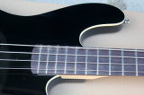 Нот Hanhai/гитара черноты электрическая басовая с 4 шнурами (басом BK джаза)