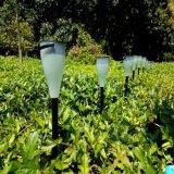 新しい太陽庭の芝生の棒ランプのヤードのパスカラーによって変更されるLEDのライト