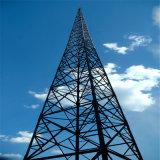 自己サポートGSM Telcom 4脚の角の電流を通された鋼鉄タワー