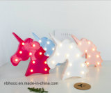 2018 estilo caliente de la luz de unicornio