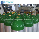 Bombola per gas senza giunte dell'O2 dell'ossigeno dell'alluminio 20L 150bar di DOT3al