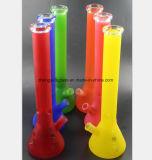 """Petróleo da tubulação de vidro Multicolor 17.7 do fumo o """"recicl a tubulação do vidro do escaninho"""