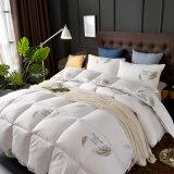 100% хлопок белый полный размер стеганых матрасов крышку с подушкой