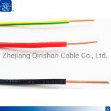 H07V-U 1.5mm 2.5mm 4,0 mm isolés de PVC simple coeur de fil électrique