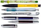 執筆器械: ペン及び鉛筆