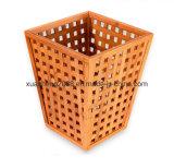 Vuilnisbak van de Vuilnisbak van het Afval van het Recycling van het bamboe de Houten