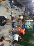 Intérieur en extérieur FTTH Drop Ligne de production de câbles à fibre optique